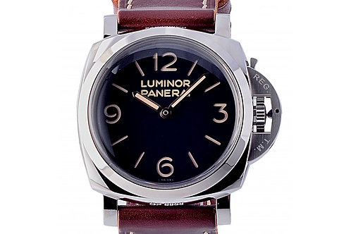 Panerai Luminor 1950 Black Dial 47mm Steel