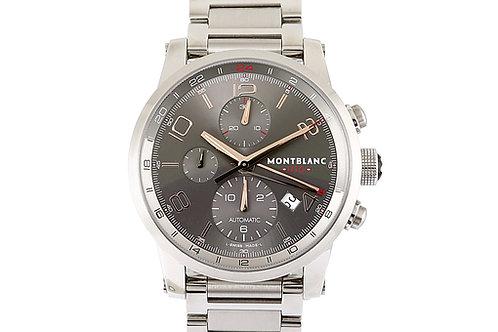 Montblanc Timewalker Chronograph UTC Grey Dial 43mm Steel