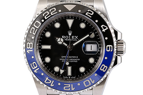Rolex GMT Master 2 Batgirl Jubilee Bracelet 40mm Steel