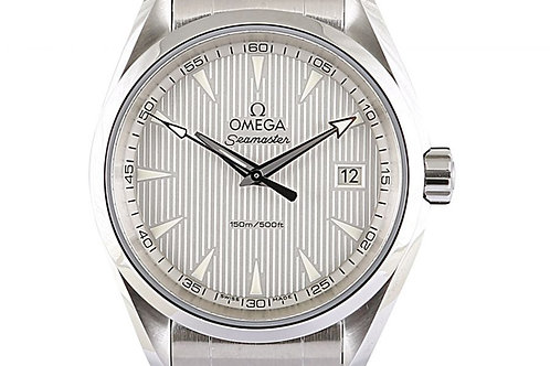Omega Seamaster Aqua Terra Silver Dial 38.5mm Steel Quartz