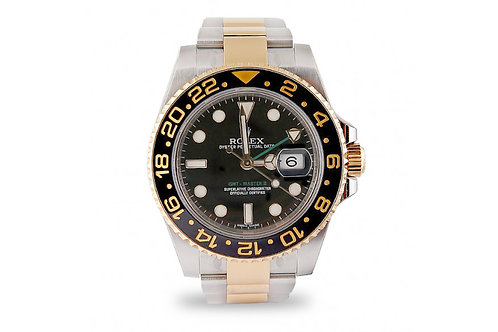 Rolex GMT Master II Steel and Gold 40mm
