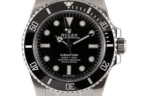 Rolex Submariner No Date Steel 40mm