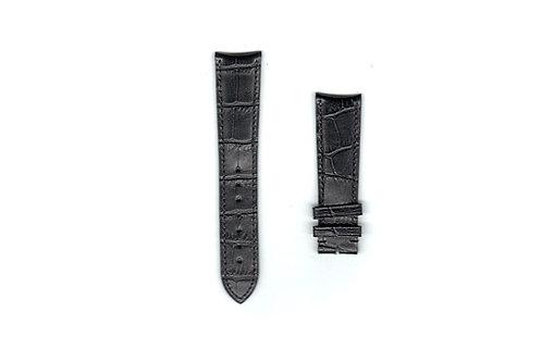 Patek Philippe Calatrava Black Leather Strap 21mm