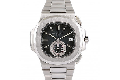 Patek Philippe Nautilus Black Dial 40.5mm Steel