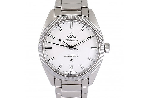 Omega Constellation Globemaster Silver Dial 39mm Steel