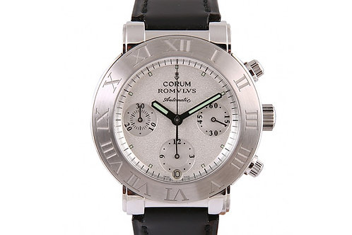 Corum ROMVLVS Chronograph Stahl 38mm Steel