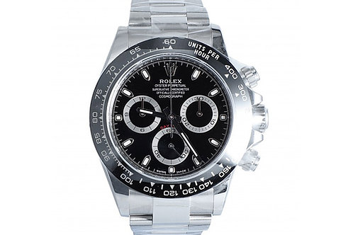 Rolex Cosmograph Daytona Black Dial 40mm Steel & Ceramic