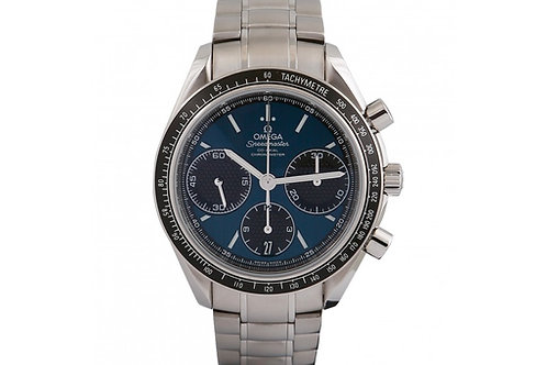 Omega Speedmaster Racing Co-Axial Chronograph Blue Dial 40mm Steel