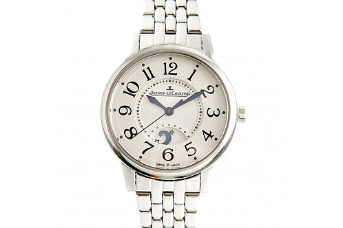 Jaeger LeCoultre Rendez-Vous Night & Day Silver Dial 34mm Steel