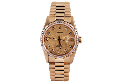 Rolex President Datejust Yellow Gold 31mm