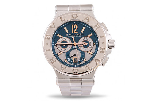 Bvlgari Diagono Calibro 303 Chronograph Steel