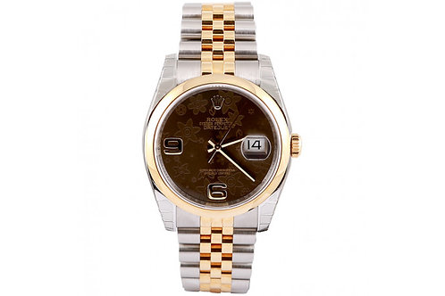 Rolex Oyster Perpetual Datejust Steel & Yellow Gold