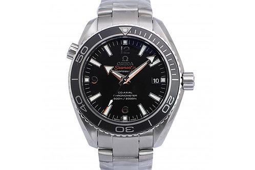 Omega Seamaster Planet Ocean Black Dial 42mm Steel