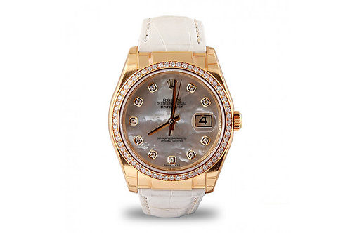 Rolex Datejust 36 Yellow Gold & Diamonds