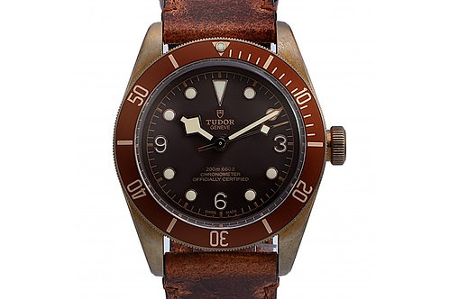 Tudor Heritage Black Bay Bronze Brown Dial 43mm Bronze