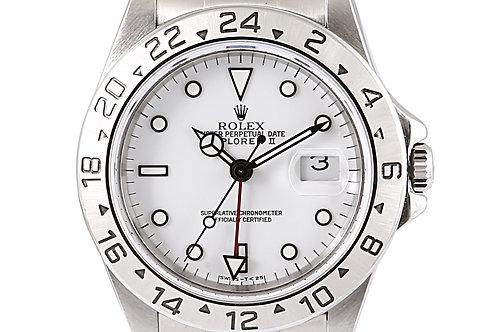 Rolex Explorer 2 White Dial Steel 40mm