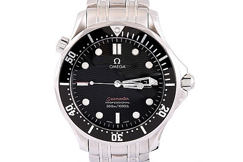 Omega Seamaster 300M Black Dial 41mm Steel