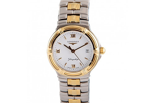 Longines Flagship White Dial 25mm Steel & Yellow Gold
