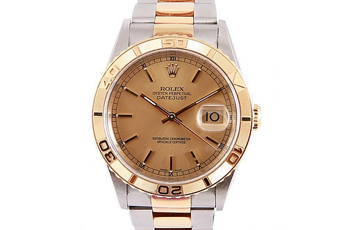 Rolex Datejust Turn-O-Graph 36mm Steel & Yellow Gold