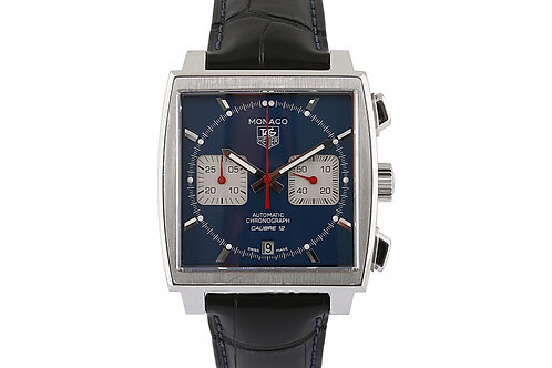 Tag Heuer Monaco Blue Dial 39mm Steel