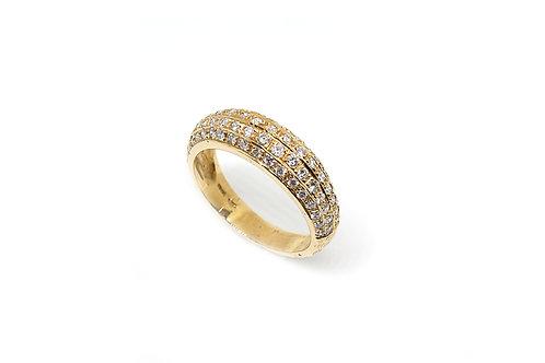 Half Band Diamond Ring