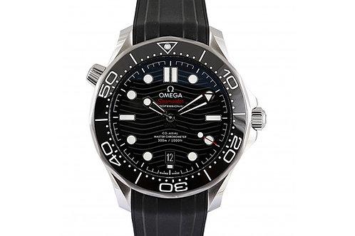 Omega Seamaster Diver 300m Black Dial 42mm Steel