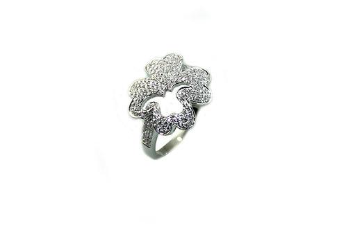 Lucky Clove Diamond Ring