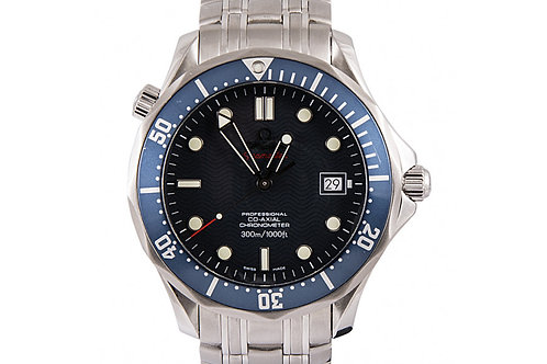 Omega Seamaster Blue Dial 41mm Steel