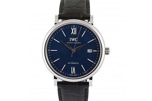 "IWC Portofino ""150 Years"" Limited Edition 40mm Blue Dial"
