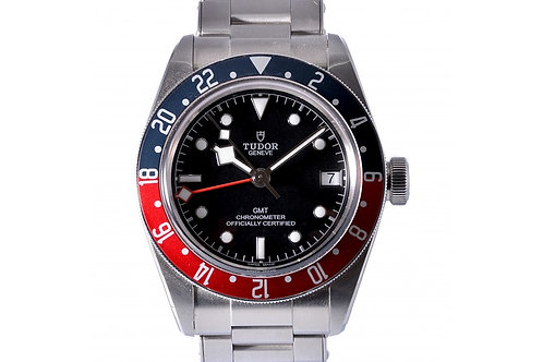 "Tudor Black Bay GMT ""Pepsi"" Black Dial 41mm Steel"