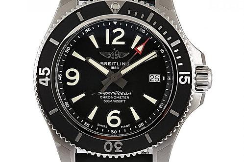 Breitling Superocean Black Dial 42mm Steel