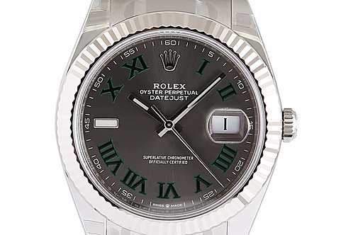 Rolex Datejust 2 Wimbledon Dial Oyster Bracelet 41mm Steel