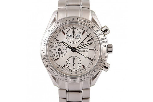 Omega Speedmaster Day-Date Silver Dial 40mm Steel