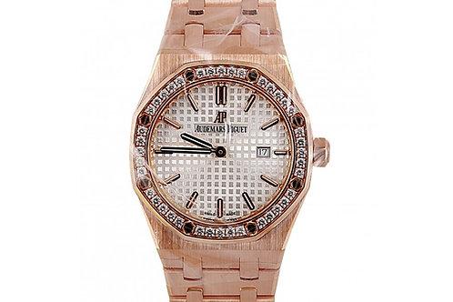 Audemars Piguet Royal Oak Quartz 33mm 18 Carat Pink Gold