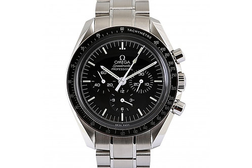 Omega Speedmaster Professional Chronograph Black Dial 42mm Steel