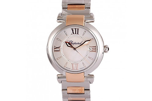 Chopard Imperiale Silver Dial 36mm Steel & Rose Gold