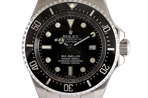 Rolex DeepSea SeaDweller Black Dial Steel 44mm