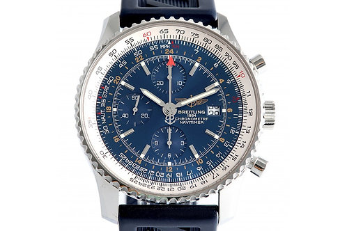 Breitling Navitimer Automatic Chronograph Blue Dial 48mm Steel