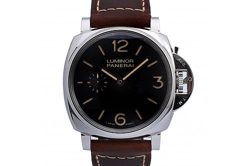Panerai Luminor Due Black Dial 42mm Steel