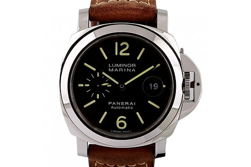 Panerai Luminor Marina Black Dial 44mm Steel