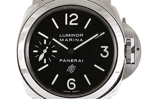 Panerai Luminor Marina Steel with Brown Leather Strap 44mm