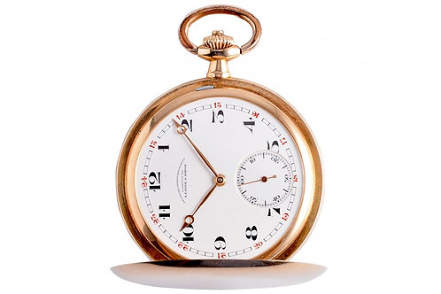 Glashutte A. Lange & Söhne Very Rare Pocket Watch 50mm Yellow Gold