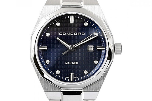 Concord Mariner Blue Diamond Dial 30mm Steel