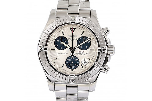 Breitling Colt Chronograph Silver Dial 41mm Steel