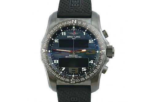 Breitling Bentley B50 Bentayga Edition Black Mother of Pearl 46mm Titanium