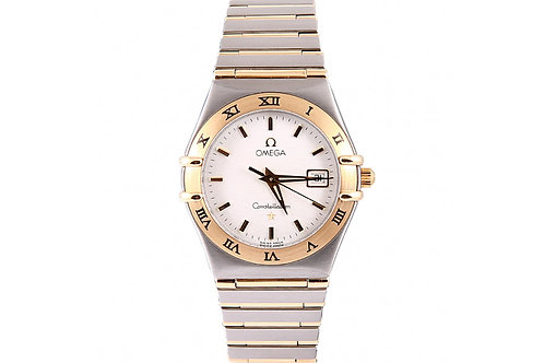 Omega Constellation 27.5mm Steel & Yellow Gold