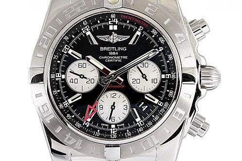 Breitling Chronomat GMT Black Dial 44mm Steel