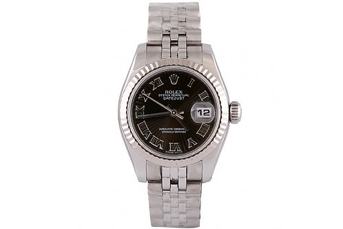 Rolex Datejust Jubilee Roman Dial 26mm White Gold