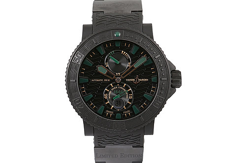 Ulysse Nardin Maxi Marine Diver Chronometer 1846 Limited Edition Black Dial 45.8