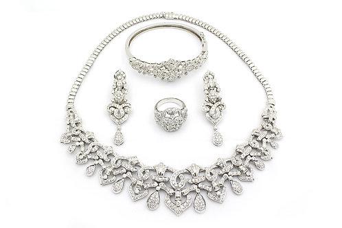 Arabic Designer Gold and Diamond Set